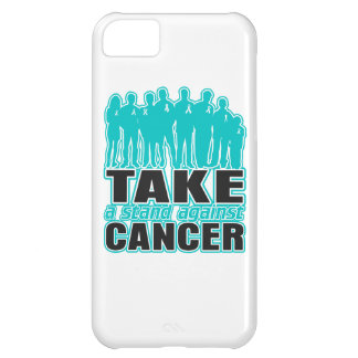 Ovarian Cancer -Take A Stand Against Cancer iPhone 5C Covers