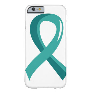 Ovarian Cancer Teal Ribbon 3 Barely There iPhone 6 Case