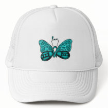 Ovarian cancer teal sister cap