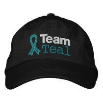 Ovarian Cancer Team Teal Cap