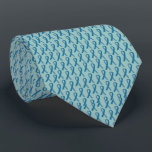 """Ovarian Cancer Tie<br><div class=""""desc"""">Help us send money to The Ovarian Cancer Research Fund with this teal colored ribbon tie.</div>"""