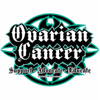 Ovarian Cancer Tribal Cutout