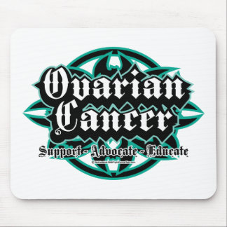 Ovarian Cancer Tribal Mouse Pad
