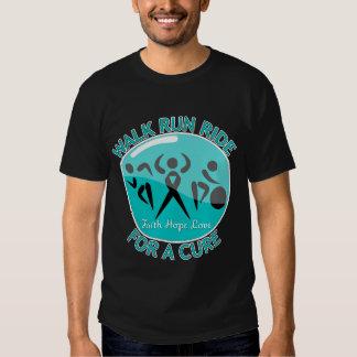 Ovarian Cancer Walk Run Ride For A Cure Shirts
