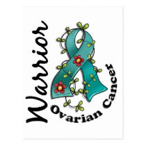 Ovarian Cancer Warrior 15 Postcard