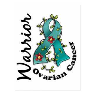 Ovarian Cancer Warrior 15 Postcard