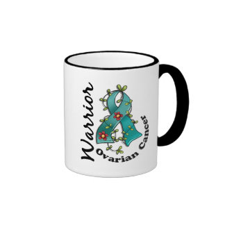 Ovarian Cancer Warrior 15 Ringer Mug