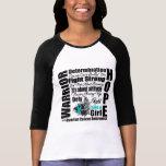Ovarian Cancer Warrior Fight Slogans Shirt