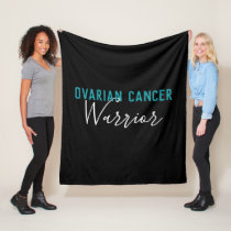 Ovarian Cancer Warrior Fleece Blanket