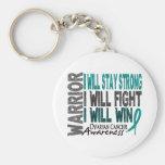Ovarian Cancer Warrior Key Chain