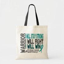 Ovarian Cancer Warrior Tote Bag