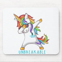 OVARIAN CANCER Warrior Unbreakable Mouse Pad