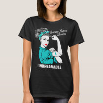 Ovarian Cancer Warrior Unbreakable T-Shirt