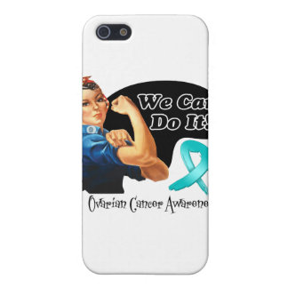 Ovarian Cancer We Can Do It Rosie The Riveter Cover For iPhone 5