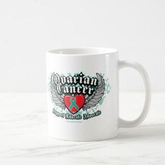 Ovarian Cancer Wings Coffee Mug