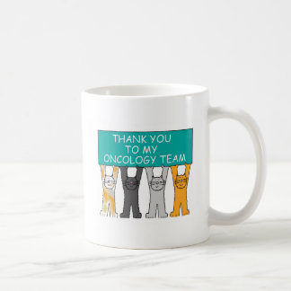 Ovarian Oncology Team Thanks Coffee Mug