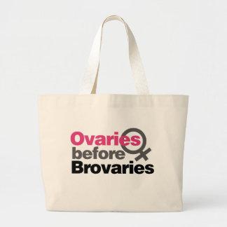 Ovaries before Brovaries Tote Bag