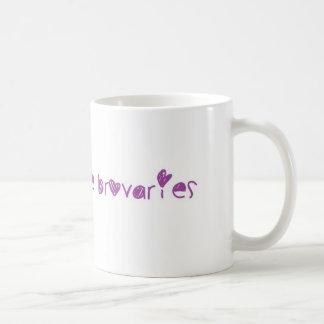Ovaries before Brovaries Classic White Coffee Mug