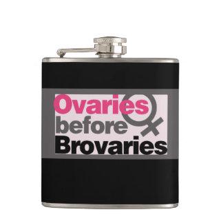 Ovaries before brovaries flask