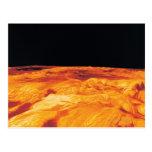 Ovda Regio en Venus Postal