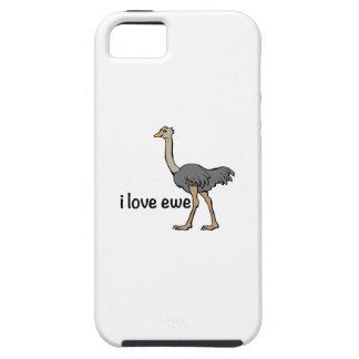 Oveja del amor iPhone 5 cárcasa