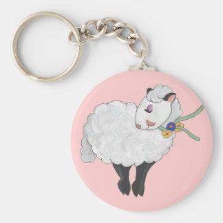 ¡Oveja no gorda, oveja mullida! Llaveros Personalizados
