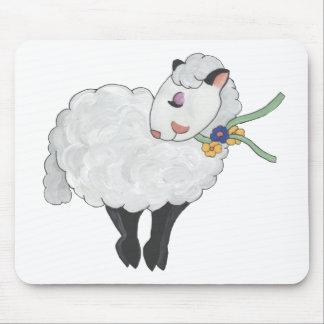 ¡Oveja no gorda, oveja mullida! Tapete De Raton
