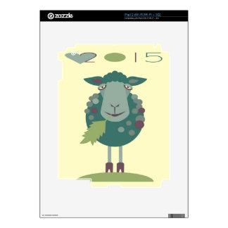 ovejas 2015 calcomanía para iPad 2