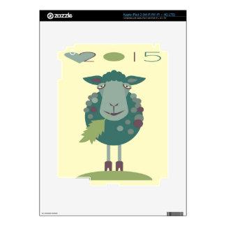 ovejas 2015 pegatina skin para iPad 3