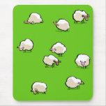 ovejas alfombrilla de ratón