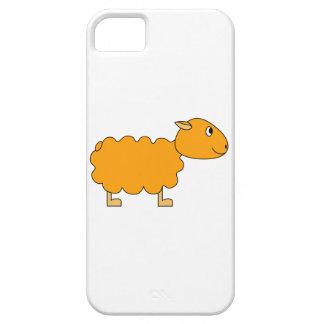 Ovejas anaranjadas iPhone 5 fundas