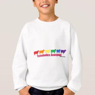 Ovejas anónimas del arco iris de Yarnoholics Remera