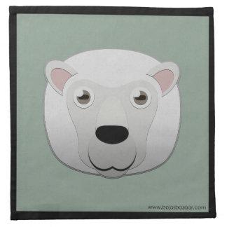 Ovejas blancas de papel servilletas