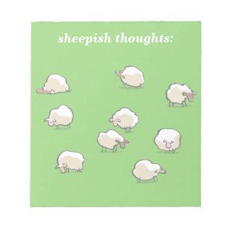 ovejas libretas para notas