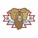 Ovejas de Bighorn Sudadera Bordada