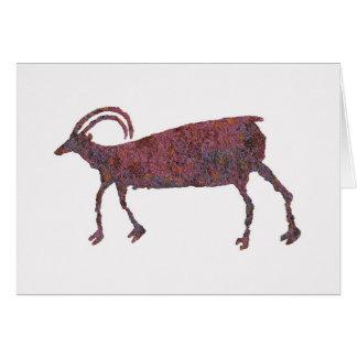 Ovejas de Bighorn, imagen animal 1, tarjeta