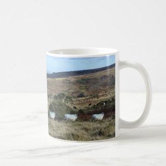 Ovejas de Dartmoor Tazas