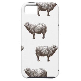 Ovejas de Emma Janeway Funda Para iPhone 5 Tough