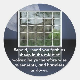 OVEJAS de la CITA de la BIBLIA del 10 16 de Matthe Etiquetas