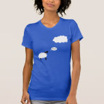 Ovejas de la nube camiseta