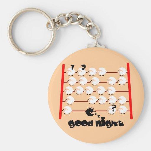 ovejas de las buenas noches llavero redondo tipo pin