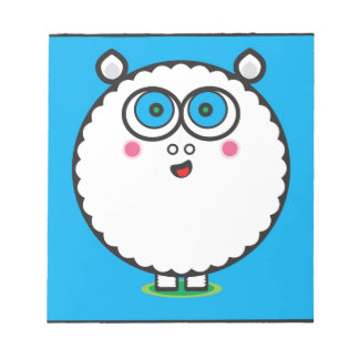 Ovejas de las ovejas de las ovejas blocs de papel