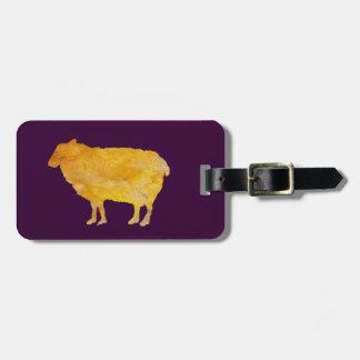 Ovejas de oro etiquetas bolsa