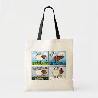 ovejas de todo el bolso de las estaciones bolsas