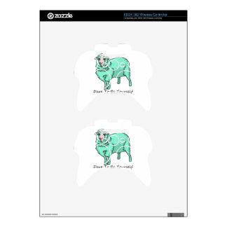 Ovejas del Aquamarine Mando Xbox 360 Calcomanía