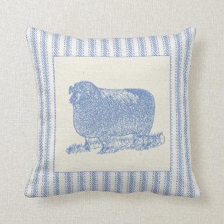 Ovejas del corral con hacer tictac almohada