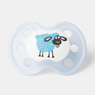 ovejas del dibujo animado chupetes