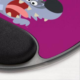 Ovejas del dibujo animado y gel juguetones lindos  alfombrilla de raton con gel