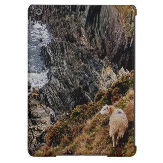 Ovejas del sur de la costa de Devon en la trayecto Funda Para iPad Air