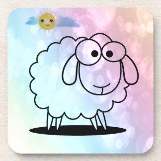 ovejas divertidas, suaves posavasos